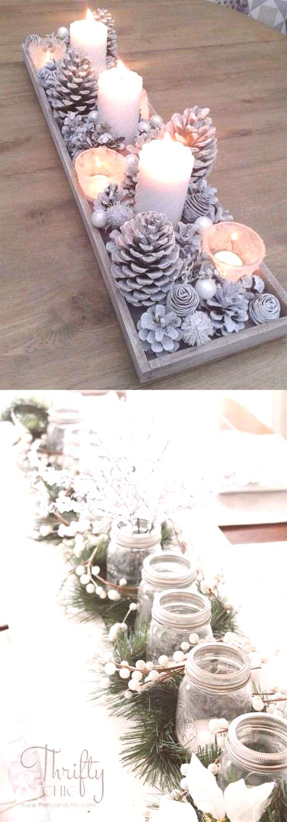 27 gorgeous amp easy DIY Thanksgiving and Christmas table decorations amp centerpieces! Most can be mad