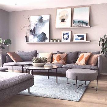 20+ Attractive Living Room Wall Decor Ideas To Copy Asap Gorgeous 20+ Attractive Living Room Wall D
