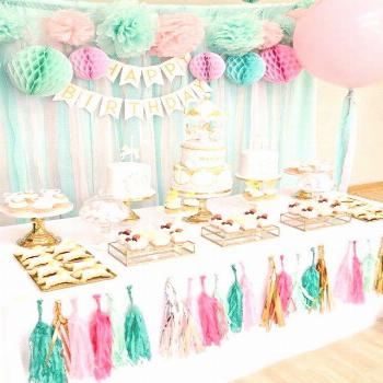 20+ Great Image of Birthday Cake Table Decoration Ideas . Birthday Cake Table Decoration Ideas Pink