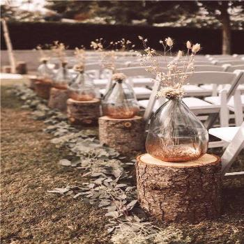 33 Fall Wedding Aisle Decorations to Blow Your Mind Away!