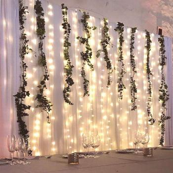 LED String Lights : Create a Simple and Gorgeous Backdrop for Under $100!