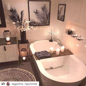 Magnificent Bathroom Decoration Ideas To Make Your Bathroom Look Wider In Space Below are given the