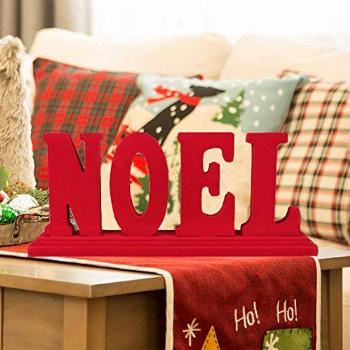 Noel Table Decoration Centerpiece Table Sign for Valentine's