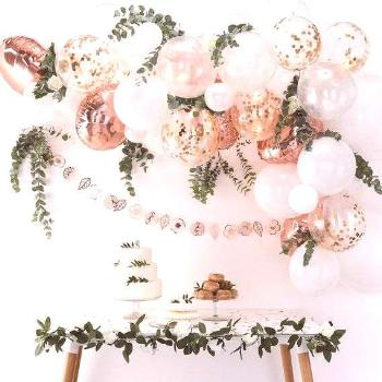 Rose Gold Balloon Garland Kit, Wedding Decorations, Baby Shower Decorations, Birthday Party Balloon