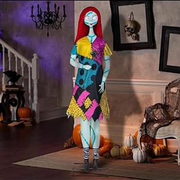 The Nightmare Before Christmas Disney 6 ft. Singing Animated