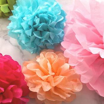 Tissue Paper Flowers: The Ultimate Guide Learn how to make tissue paper flowers with the help of th