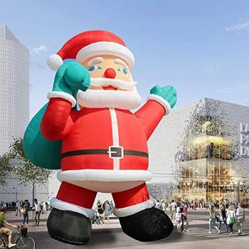 TKLoop Giant 26Ft Premium Inflatable Santa Claus with Blower