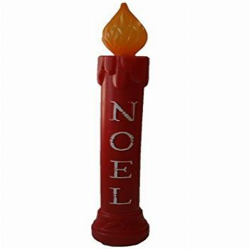 Union 77330 Lighted Noel Candle, Illuminated with Cord and