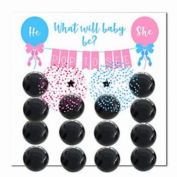 Wasatch Goods - Gender Reveal Party Supplies Game Ideas Pack