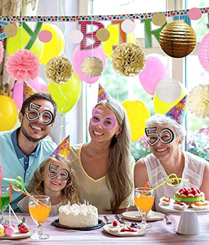 50 Birthday Decorations for Women,50th Birthday Gifts for