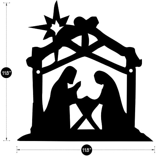 Nativity Sets for Christmas Indoor - Traditional Nativity