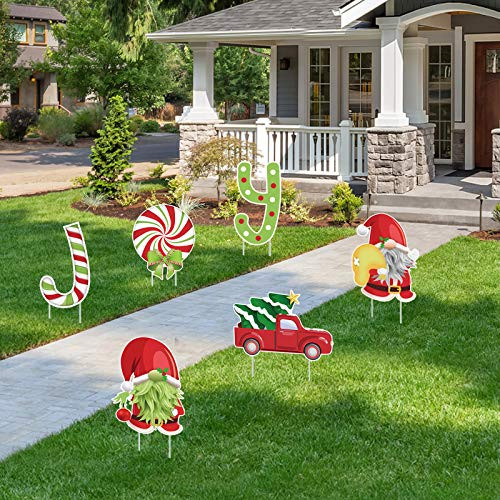 ORIENTAL CHERRY Christmas Decorations Outdoor - 6PCS Large